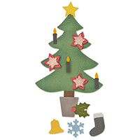 Sizzix® Bigz™ Plus Die – Christmas Tree #2-395319