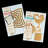 Spellbinders 2 x Die Sets - Planting Love & Labels Forty-Two - 7 -398080