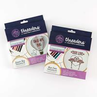 Threaders - Embroidery Kit - True Love & Dream Big-398277