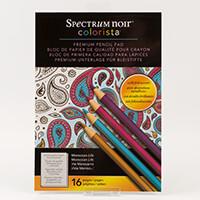 Spectrum Noir Colorista A4 Pencil Pad - Moroccan Life-398627