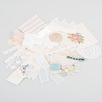 Simply Vintage Stitchwork Inspiration Pack - Minimum 30 Elements-400173
