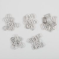 Eleganza Pack of 50 Diamante Effect Buckles-406154