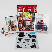 Sew Inspired Magazine Issue 5 with Bonus Sewing Gifts-411465