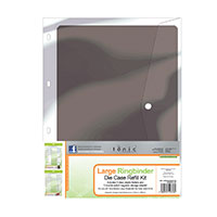 Tonic A4 Die Storage Folder Refills - 3 Clear Inserts and 3 Doubl-412117