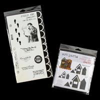 Studio 490 Stamp & MDF Set - For The Arts & Residences - 23 Piece-413538