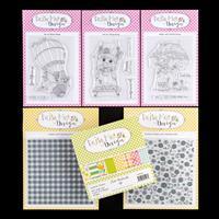 Daisy Mae Design - Sunshine Bundle - 10 x Stamps, 2 x Embossing F-413719
