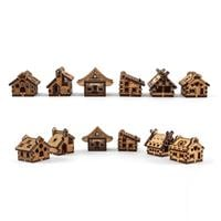 Samantha K 12 x Assorted Mini Houses Set - 6 x Designs 2 of Each-413752