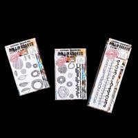AALL & Create 3 x Stamp Sets - Dot Matrix, Makers Marks & Organic-415717