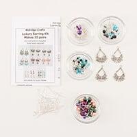 Aldridge Crafts Luxury Earring Kit - Up to 10 Pairs-419853