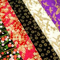 Festival of Japan 5 Sheets of Washi Paper-421031
