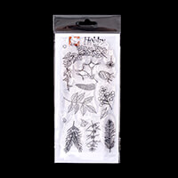 Hobby Art Janie's Collection - Christmas Foliage DL Clear Stamp S-422905