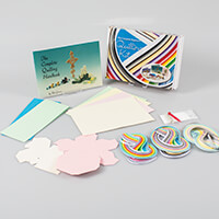 Past Times Quilling Complete Beginners Quilling Workbox Kit-424339