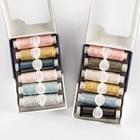 Threaders - Fox In The Wood & Cottage Garden - 6 Piece Thread Box-424522
