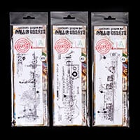 AALL & Create 3 x Stamp Sets - Classic Cruiser, Vocalist & Classi-424607