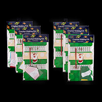 6 x Packs of Make Your Own Crackers - Makes 36 Crackers-425742