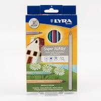 Lyra Super Ferby Metallic Pencils Set of 12-426189