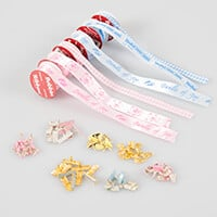 Stamp Addicts Baby Ribbons & Brads-426215