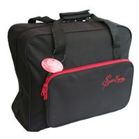 Sewing Online Sewing Machine Bag with Red Trim-426621