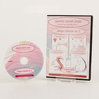 Add Some Sparkle Stitch Cards Design CD No 3 with 16 Designs-427923