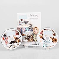 Debbie Shore Cats 'n' Dogs Pet Project Twin CD ROM Set-428134