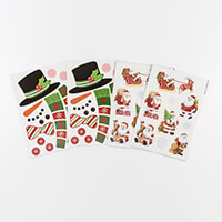 Festive Magnets Collection - Santa & Snowmen - 44 Magnets Total-428199