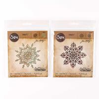 Sizzix® Thinlits™ Set of 2 Dies - Flurry #3 & #4 by Tim Holtz ®-428335