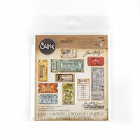 Sizzix® Thinlits™   Set of 6 Dies - Ticket Booth by Tim Holtz-432347