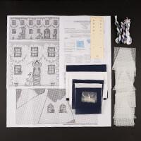 Nutmeg Penguin Hall Keepsake Box Cross Stitch Kit-435350