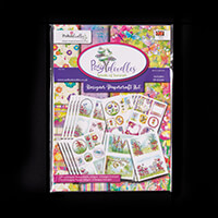 Posydoodles Splash of Summer Toppper Sheets & Paper Kit - 48 A4 S-435661