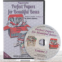 Robert Addams 'Perfect Papers for Beautiful Boxes' CD ROM Vol 2-436131