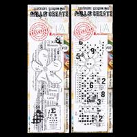AALL & Create 2 x Stamps - Growth in Numbers and Print by Numbers-436147