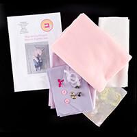 Aly's Stitchy Fingers Unicorn Pyjama Case Kit-437189