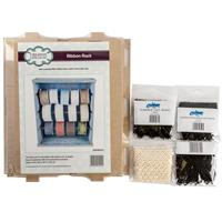 Creative Expressions Ribbon Storage Rack & 4 x Packs of Lace - Cr-437675