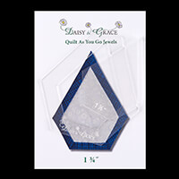 "Daisy & Grace 'Quilt as you go' Jewel template - 1 3/4""-438941"
