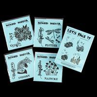Peerless Designs Fantasy Stencil Collection - 8 Sets of Stencils-442274
