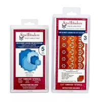 Spellbinders 2 x Die Sets - Classic Decorative Inserts Three & La-443075