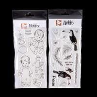 Hobby Art Toddlers & Toys and Toucans DL Clear Stamp Sets - 24 St-444053