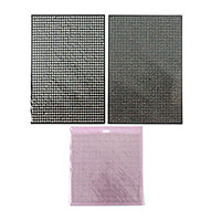 Craft Buddy 6100 Self Adhesive AB Clear Gems in 2 3   5mm-445949