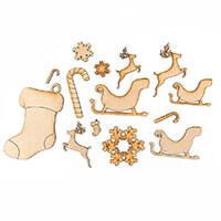 Karacter Krafts Set of Magical Christmas Embellishments - 15 Piec-446323