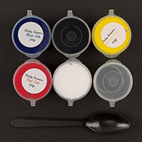 Dinky Screens Set of 5 Inks with Mixing Pot, Spoon & Instructions-447552