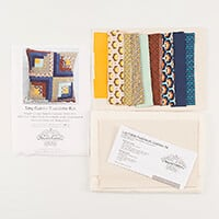 Beyond Fabrics Log Cabin Cushion Complete Kit-452628