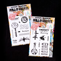 AALL & Create 2 x Stamp Sets - Curiosity & The Discovery - 20 Sta-452703