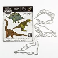 Sizzix® Thinlits™ Set of 3 Dies - Prehistoric by Tim Holtz®-453389
