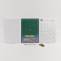 Kelly Cuts Paper Beginners Kit - Inc Templates, Colouring Sheets,-455532
