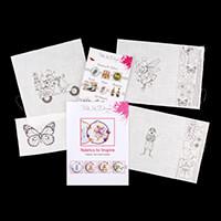 Pink Ink Designs Cut, Colour & Create 3 x Mice Designs with Bonus-455833