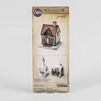 Sizzix® Bigz Die by Tim Holtz - XL Village Dwelling-456005