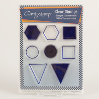 Claritystamp Sam's Shapes Clear Stamps - Hexagon-456020