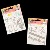 StudioLight 2 x Create Happiness Die Sets - Page Markers and Arro-456428