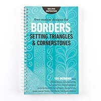Free Motion Designs for Borders, Setting Triangles & Cornerstones-457341