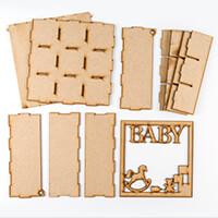 Daisy's MDF Box with Baby Frame Lid - 21x21x8cm-458459